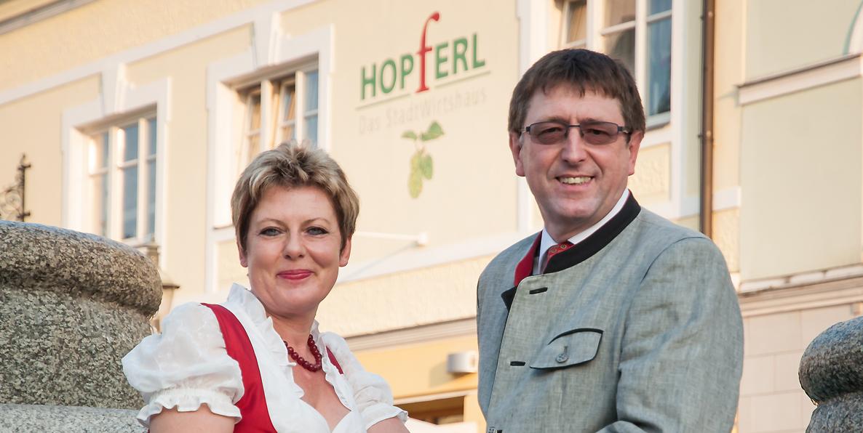 Monika und Josef Hag
